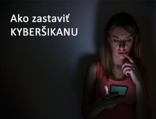 Ako zastaviť kyberšikanu?