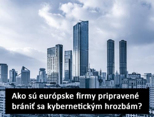 Ako sú európske firmy pripravené brániť sa kybernetickým hrozbám?