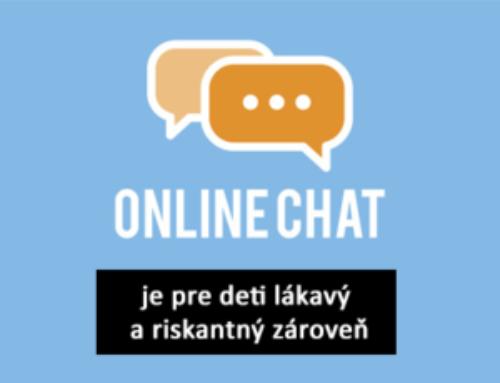 Online chat je pre deti lákavý a riskantný zároveň