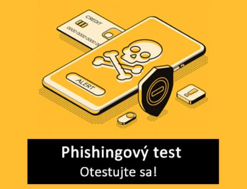 Phishingový test